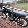 Suzuki TC120 : A project bike I bought in December 2009 which I never got running and traded for my Suzuki AC50.  This one is a 1969 Suzuki TC120 two stroke.